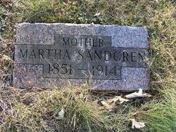 Martha <i>Peterson</i> Sandgren