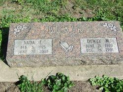 Dewey M Blair