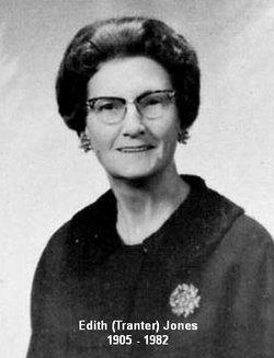 Edith Marion Elizabeth <i>Tranter</i> Jones