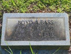 Boyd A. Bass