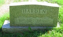 Maude Alma <i>Mathis</i> Harden