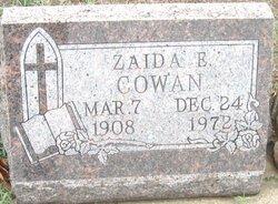 Zaida E. <i>Tannahill</i> Cowan