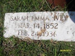 Sarah Emma <i>Vinson</i> Ivey