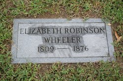 Elizabeth Betsy <i>Robinson</i> Wheeler