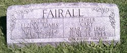 Elzina <i>Adams</i> Fairall