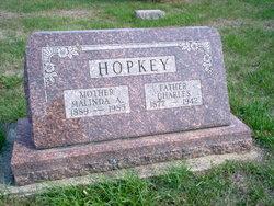 Malinda Emile <i>Meyer</i> Hopkey