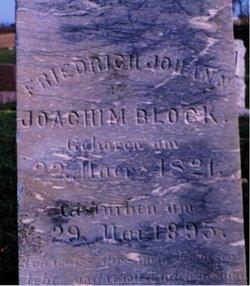 Fredrich Johann Joachim Block