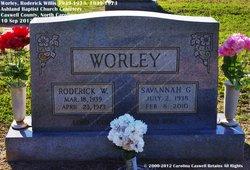 Roderick Willis Worley