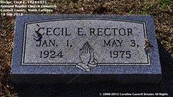 Cecil E. Rector