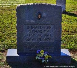 Ronald Lee Kendrick