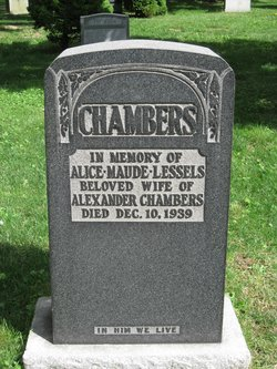 Alice Maude <i>Lessels</i> Chambers