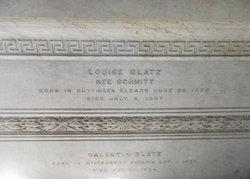 Louise <i>Schmitt</i> Braun-Blatz