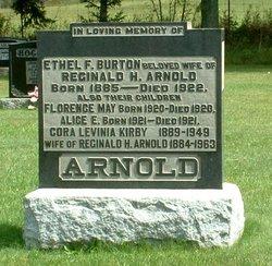 Ethel F <i>Burton</i> Arnold