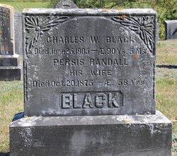 Charles Wright Black
