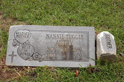 Nannie <i>Tuggle</i> Autry