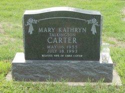 Mary Kathryn <i>Talkington</i> Carter