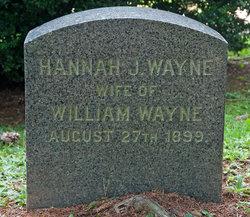 Hannah J Wayne