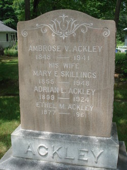 Adrain Lowell Ackley