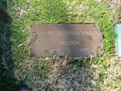 Aliece McHenry <i>Mucher</i> Falvey