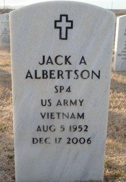 Jack A Albertson
