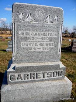 Mary Elizabeth <i>Ditmer</i> Garretson