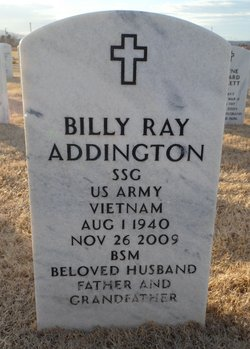Sgt Billy R. Addington