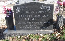 Barbara <i>Jameson</i> Admire