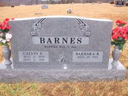 Calvin Earnest Barnes