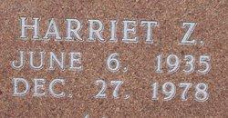 Harriet Lucille <i>Zang</i> Cole