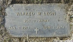 Alfred W Lyon