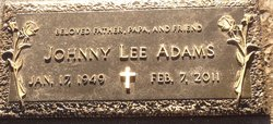 Johnny Lee Adams