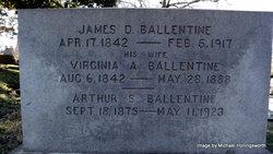 Virginia <i>Arey</i> Ballentine