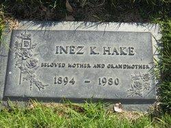 Inez <i>Keeler</i> Hake