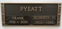 Roberta <i>Wilson</i> Pyeatt