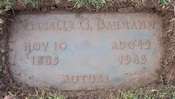 Isabelle G <i>Fuller</i> Baumann