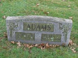 Clara M <i>Keefer</i> Adams