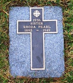 Sr Rhoda Pearl Rhoda Pearl
