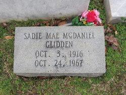 Sadie Mae <i>McDaniel</i> Glidden