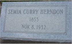 Semia Ann Victoria <i>Currie</i> Herndon