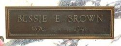 Bessie E. <i>Seymour</i> Brown