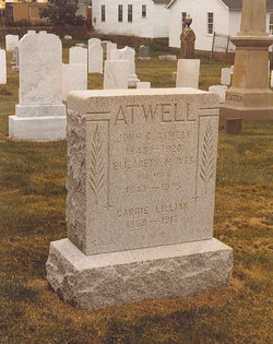Elizabeth M. <i>Ives</i> Atwell