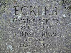 Hulda <i>Dunham</i> Eckler