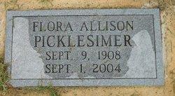 Flora Marion <i>Allison</i> Pickelsimer