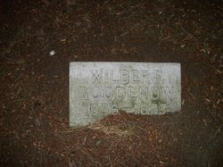 Wilber F Goodenow