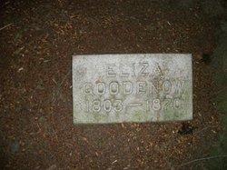 Eliza <i>Butler</i> Goodenow