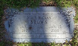 Doris <i>McCann</i> Brown