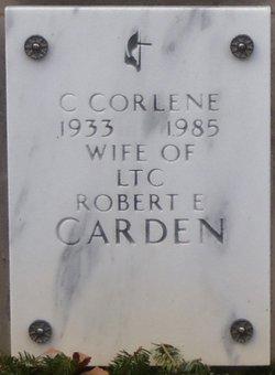 C Corlene Carden