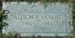 Alison F Bryant