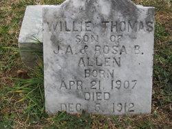 Willie Thomas Allen