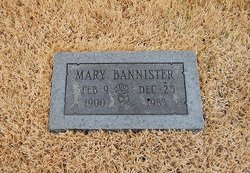 Mary Bannister